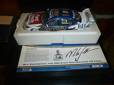 Classic Carlectables 2008 BF Falcon Mark Winterbottom Members Car
