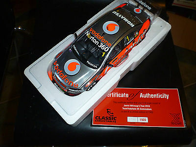Classic Carlectables 2010 Jamie Whincup Team Vodafone VEII Commodore