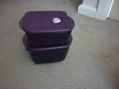 Tupperware heat n eat set base containers