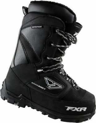 FXR Backshift Boots with Lace System Mens Snowboard Skiing Sled Snowmobile Boots