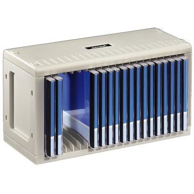 Hama 20 CD Rack Storage CD Case Vertical Horizontal Wall Mounting Self Assembly