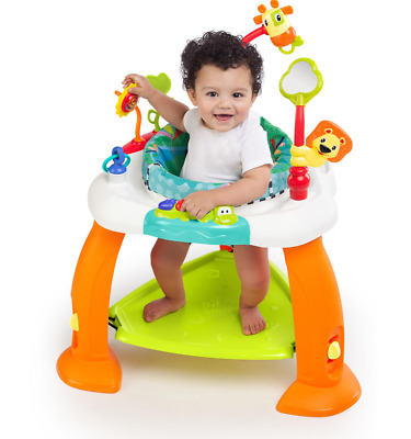 Baby Exercise Bouncer Jumper Exersaucer Child Learning Activity Pad Center Kids
