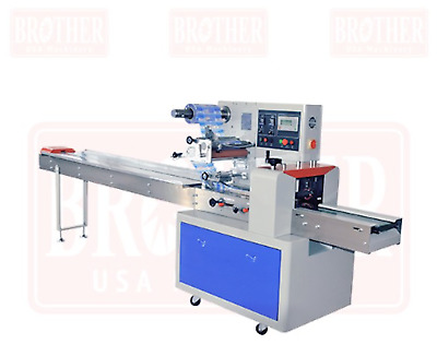 Horizontal Flow-Pack Wrapping Machine New!!