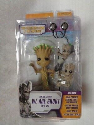 ORIG NOS 2015 MARVEL COMIC WE ARE GROOT Guardians of the Galaxy Dancing Earbuds