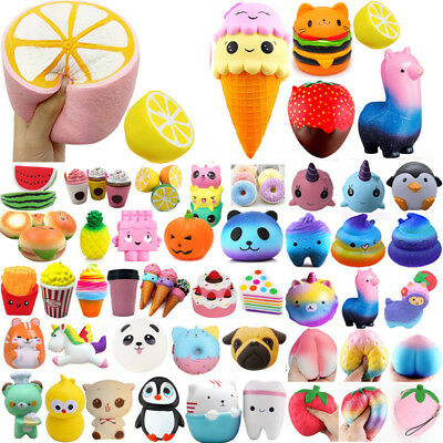Jumbo Slow Rising Squishies Scented Charms Soft Squishy Squeeze Toys Collect