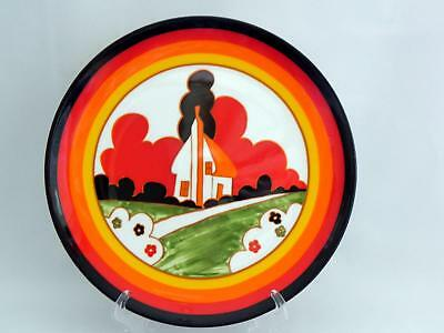 Wedgwood - CLARICE CLIFF - Bizarre Display Plate *FARMHOUSE* Limited Edition