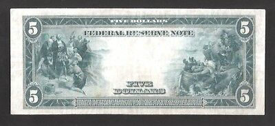 Rare St. Louis Type-A 1914 $5 Large Federal Reserve Note