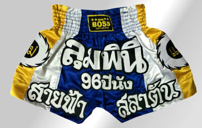 Big Boss Muay Thai, Kickboxing K1 Kampfsport Short Kurze Hose Gr. S, M, L, XL