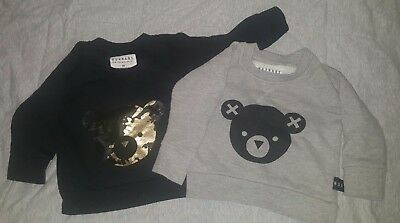 huxbaby 00 3-6mths jumpers ecu