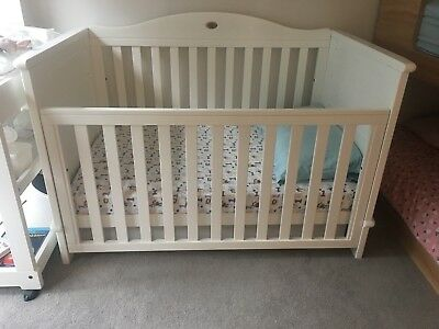 Boori Country Cot with Trundle Bed and Mattress