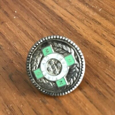 Silver First Corp Button/badge