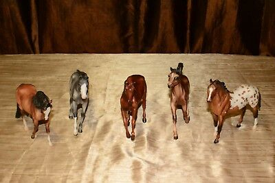 Mixed  Breyer Horses-Lot of 5 Traditional classic.