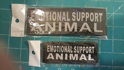 Emotional Support Animal Patches - Set of 2 - New