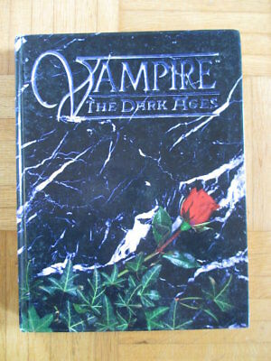 Vampire The Dark Ages Core Rulebook WW2800 – English White Wolf Roleplay d20 vam
