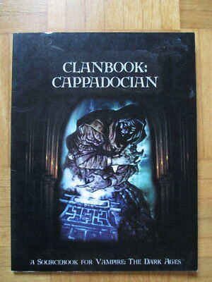 Vampire The Dark Ages Clanbook Cappadocian WW2805 – English White Wolf Roleplay