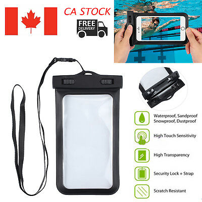 For Iphone 7 Plus 8 6S Plus Waterproof Underwater Photo Case Phone Dry Bag Pouch