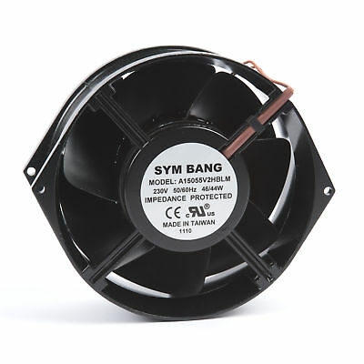 Axial Fan 230V AC with Ball Bearing 5.66 cu m/min