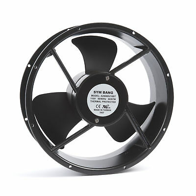 Axial Fan 115V AC with Ball Bearing 15.00 cu m/min
