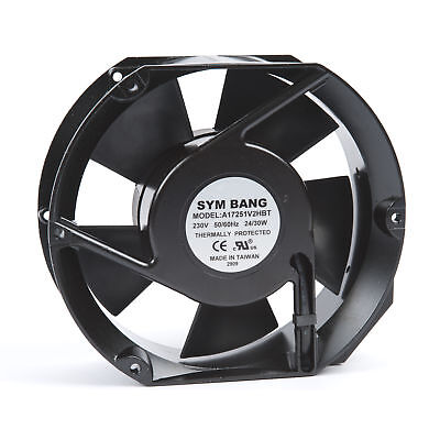 Axial Fan 230V AC with Ball Bearing 5.40 cu m/min
