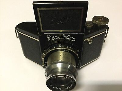 EXAKTA Model A Vintage c1933 - Ihagee First Exakta No Sun Moon Logo - Very Rare
