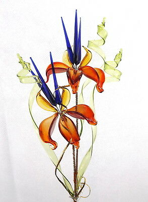 Stunning Mothers Day Gift Glass Flower Perfect Present Decoration For Home Room