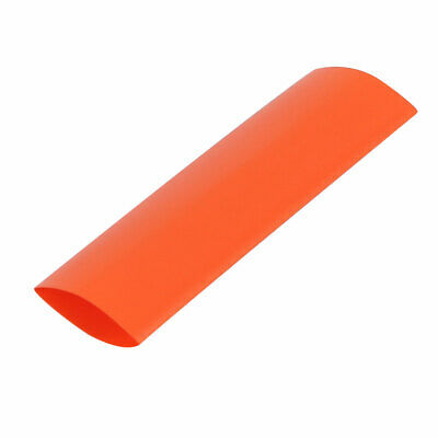17mm Flat Width 46mm Long PVC Heat Shrinkable Tube Nacarat for AAA Battery Pack