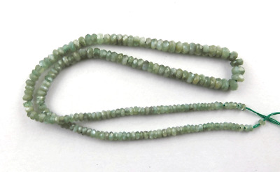 """1 Strand Natural Alexandrite Gemstone Faceted Rondelle Beads 2.5-5mm 15"""" Long"""