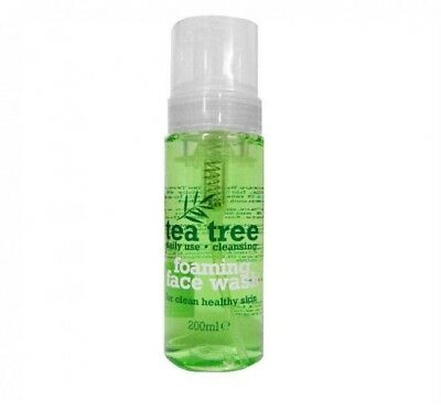 TEA TREE FOAMING FACE WASH - DAILY USE FOR CLEAN HEALTHY SKIN 200ml