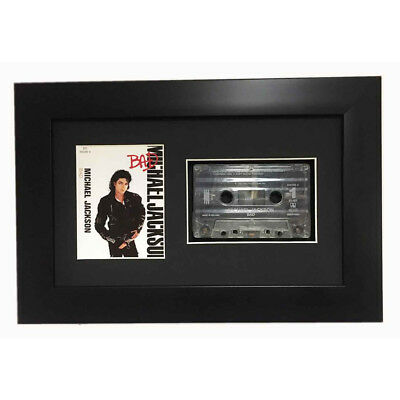 Frame For Music Cassette Tape 3d Display Frame In Black
