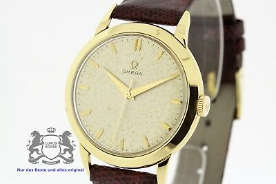 OMEGA Vintage solid 18K Yellow Gold Men's Watch Ref. 2686 Cal. 283 (2584)
