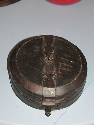 Antique Solid Wood Spice, or Food Box Carrier Spanish? Asian? Oriental?