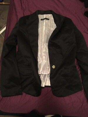 Black Jacket Blazer Eu XL