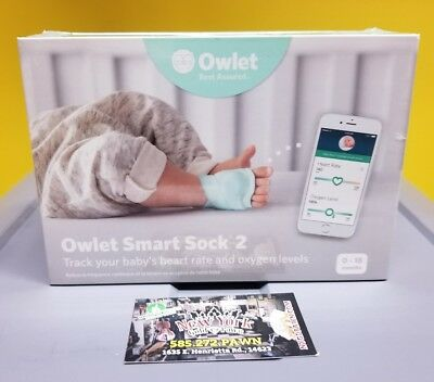 Owlet Smart Sock 2- Track your baby's heart rate and oxygen levels. New, Sealed.