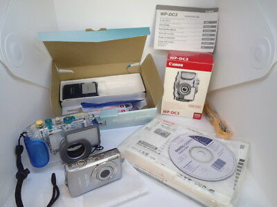 Canon SD630 PowerShot AND Underwater Case Canon WP-DC3. FREE Shipping.
