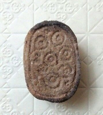 Rare Ancient Egyptian Antique stone scarab k (1069–332 BC)