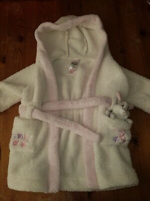baby girls 3-6 months bambi dressing gown disneystore