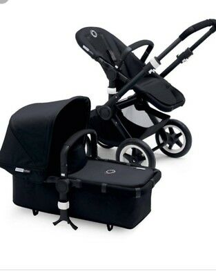 Bugaboo Buffalo Tailored Fabric Set In black BNWT