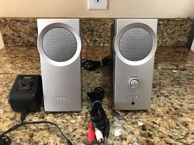 Bose Companion 2 Series I Computer Speakers Works Great TESTED!!!