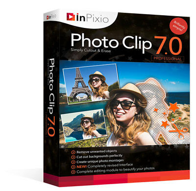 InPixio Photo Clip 7 Professional - Photo Image Editor - Official Latest Version