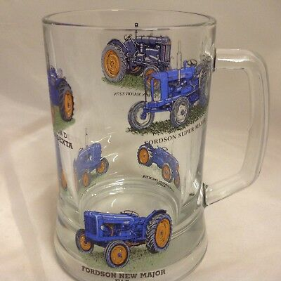 FORDSON TRACTOR. 1pt  HEAVEY BASE TANKARD  6 DIFFERENT TRACTORS