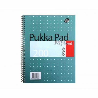 Pukka Pad Jotta 5mm Squared A4/A5 Notebook Square Box Wirebound Mathematics Math