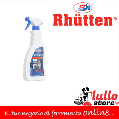 REPELLENTE DISABITUANTE PER CANI E GATTI SPRAY 750ml DISSUASORE BISOGNI ANIMALI