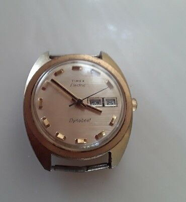 Vintage Timex  Electric Watch dynabeat