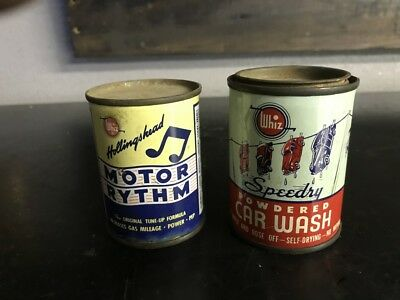 Vintage Whiz Cans, Lot of 2