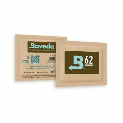 Boveda RH 62% 4 gram Humidity 2 Way Control Humidor, 5 Humidipacks