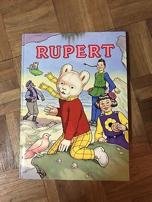 Vintage Hardback - Rupert the Bear Annual No 56 Unclipped Great condition