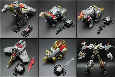 HASBRO Power of  Primes Grimlock Slug Swoop Sludge Snarl Slash Dinobot COMBINER