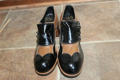 """1970s VINTAGE  PLATFORM DISCO SHOES WITH 3"""" HEELS...SEE BELOW FOR SIZE"""