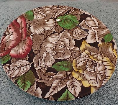 Myott Son & Co England SALAD DESSERT Plate  Bermuda Brown Red Yellow 6 1/4""