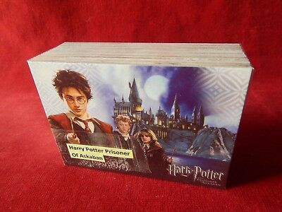 Set Of Harry Potter Prisoner Of Azkaban Trading Cards Cards Inc
